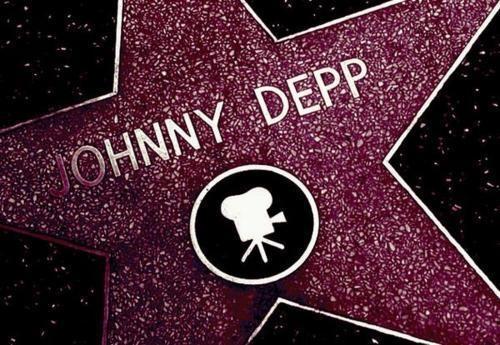Johnny Depp star