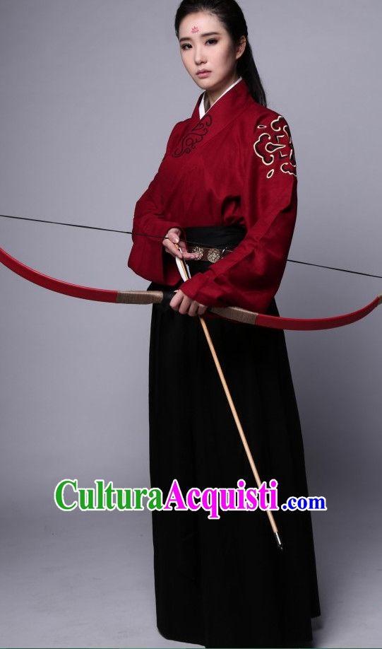 Cinese cinese Costume costumi Hanfu dinastia Han Cina antica studioso abiti vestito di sposa abiti abiti Set completo per le donne