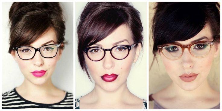 Los mejores trucos para maquillarse si llevas gafas:
