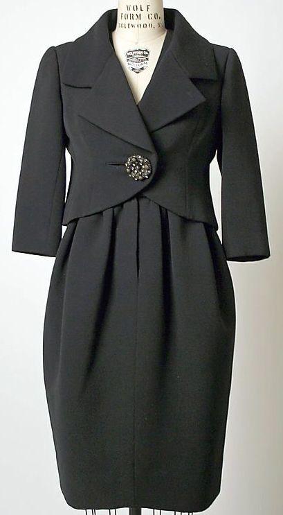 Balenciaga - Vintage - Tailleur 'Bouton Bijou' - 1959-60