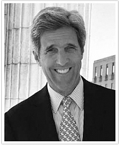 John Kerry - former US Senator and Secretary of State under President Obama. The ultimate diplomat.