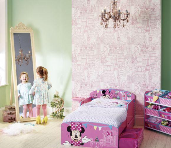Łóżeczko Minnie, meble Disney a także inne akcesoria Disney oraz Minnie znajdziecie na stronie sklepu mamaania.com.pl