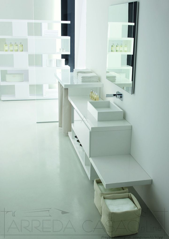 arredo bagno lavanderia componibile tamb11 prezzo arredacasaonline