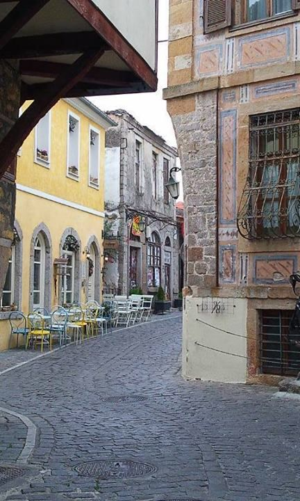 Alley in Xanthi