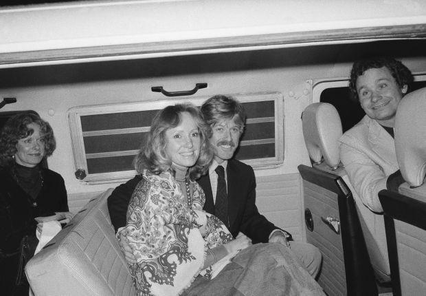 Robert Redford and Lola van Wagenen (27 years)