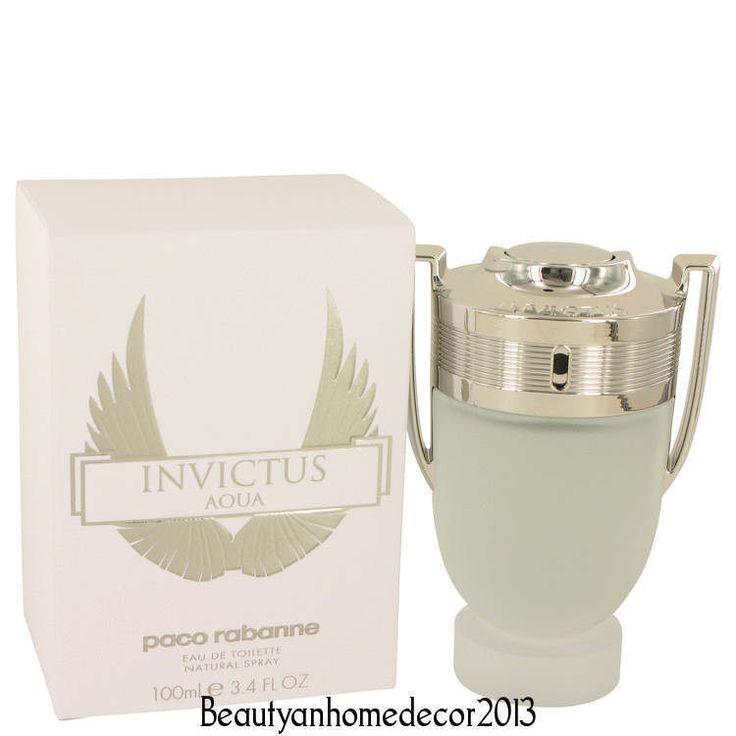 Invictus Aqua By Paco Rabbane 3.4 oz EDT Cologne Spray for Men New In Box…