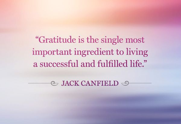 14 Causes To Be Grateful Right now