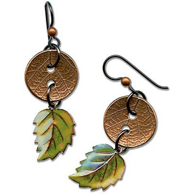 New Leaf Earrings Tutorial