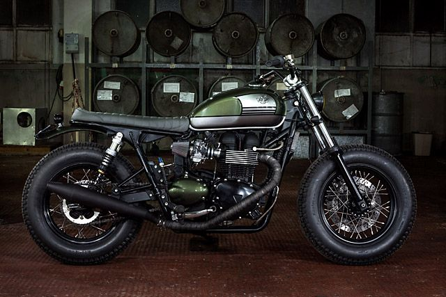 2007 Triumph Bonneville by Ton-Up Garage