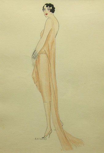 [1920'S Fashion Design] By P. Aveline
