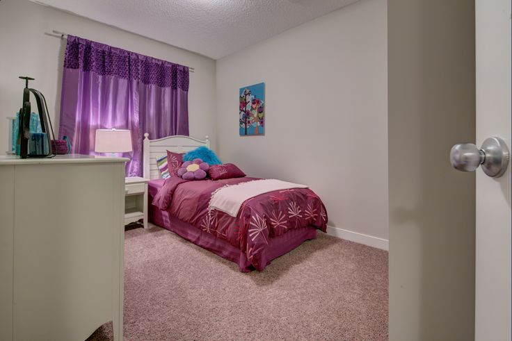One of the secondary bedrooms - adorable!