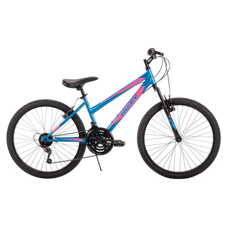 Women's Huffy 24-Inch Alpine Mountain Bike, Blue