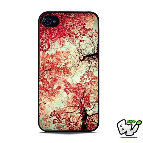 Autumn Leaf Cherry Blossoms iPhone 5 | iPhone 5S Case