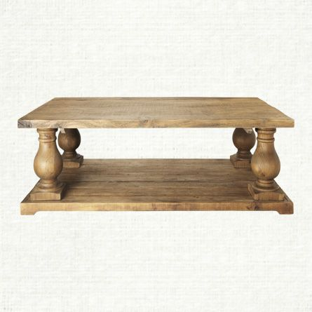 View The Hudson Large Coffee Table At Arhaus. Constructed Of 100% Reclaimed  Pine,
