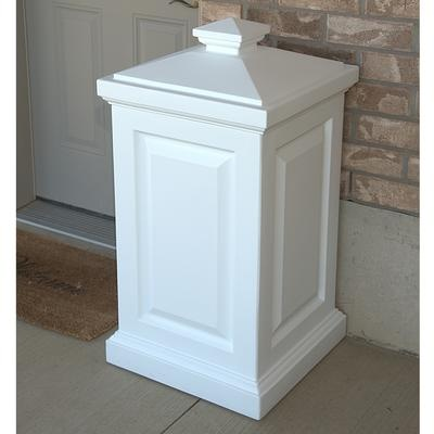 Garbage can for outside/deck area... That could be easily made for less!!
