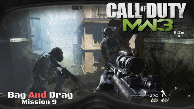 Call Of Duty Modern Warfare 3 Mission 9 Bag And Drag