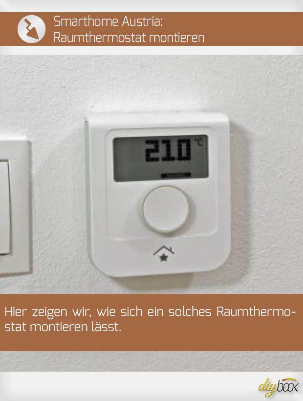 Smarthome Austria Raumthermostat Montieren Energietechnik Fussbodenheizung Und Installateur