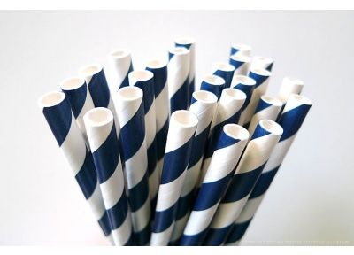 Bio-degradable Straws in all different colors - stripes, dots, hearts, etc. {25 fro $4}