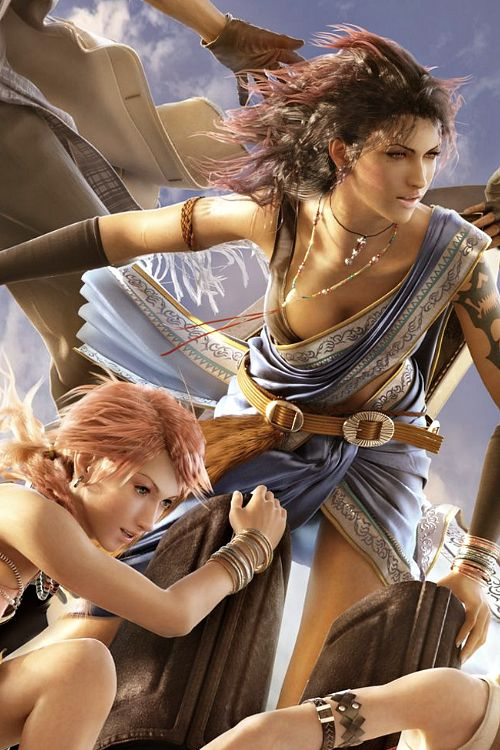 9 best final fantasy xiii fanille images on pinterest final vanille and fang final fantasy xiii voltagebd Image collections