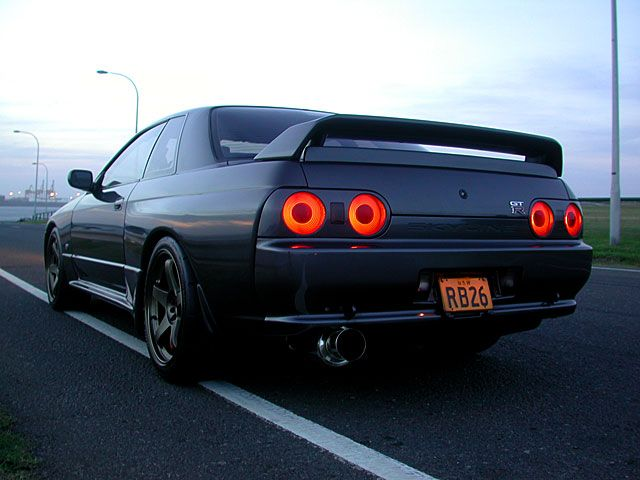 nissan skyline r32 gtr back Nissan Skyline R32 Wallpaper  Dream