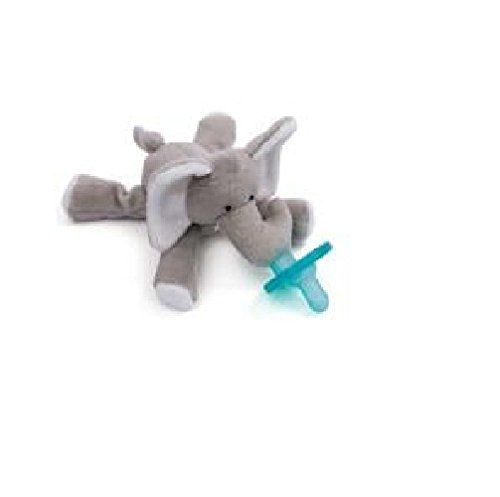 WubbaNub Elephant WubbaNub - They come in many different animals.  Easy for babies to hold and grab when they are old enough.