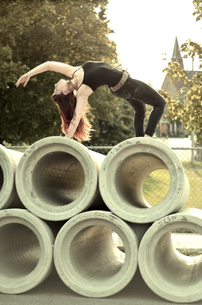 (c) Mercedes Déziel-Hupé  Project: Ballet in the Streets  Summer 2012  Model/dancer: Amelia Griffin