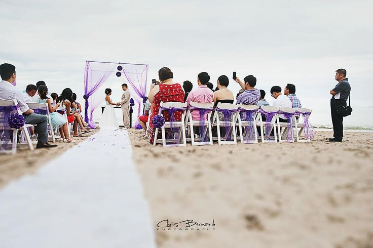 The Ceremony #weddingphotography #weddng #weddingday #weddingceremony #purplewedding #beachwedding #weddingonbeach #ido #mexicowedding #weddingfun #weddingtime #wedding #brideandgroom #weddingphoto #weddingphotographer