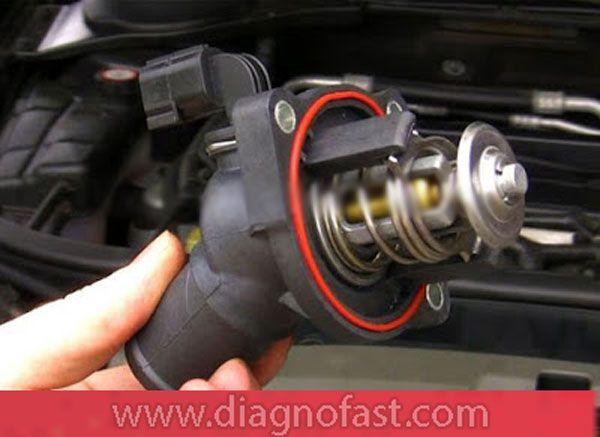 أعراض عطل منظم حرارة محرك السيارة الترموستات Steering Wheel Wheel