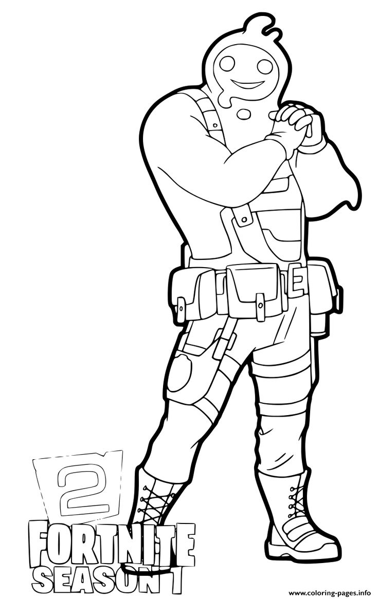 Print Fortnite Chapter 2 Rippley coloring pages | Free ...