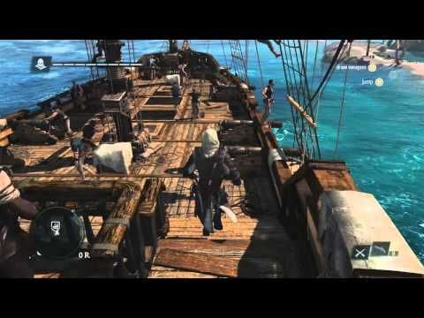 ▶ 13 Minutes of Caribbean Open-World Gameplay | Assassin's Creed 4 Black Flag [UK] - YouTube