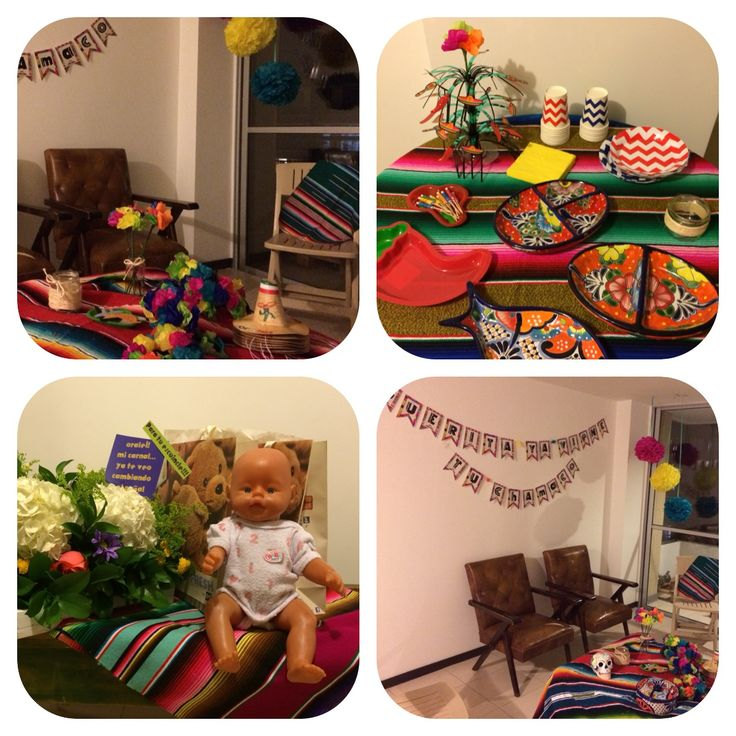 Mexican Baby shower · Güerita ya viene tu chamaco· Fiesta ·