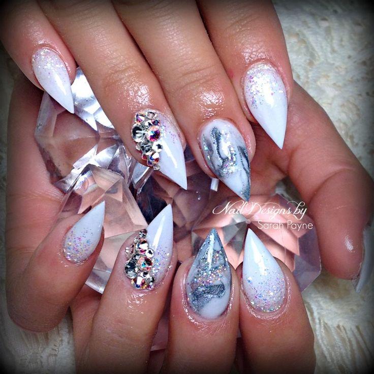 Acrylic fetish nail