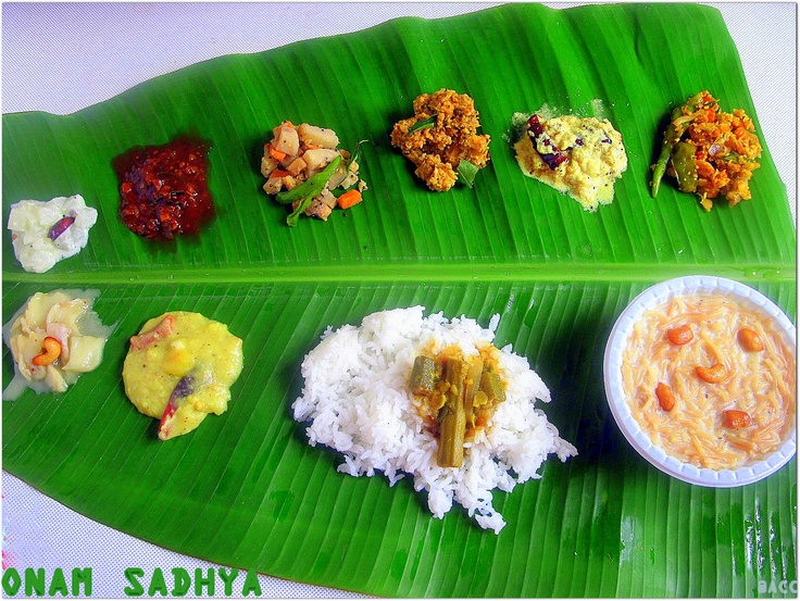 Onam sadhya special recipes !!