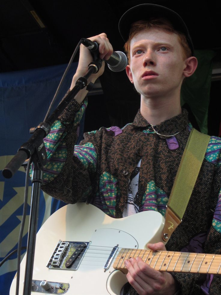Archy Marshall (King Krule) at Pitchfork Music Festival