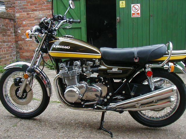 1974 Kawasaki Z1A 900