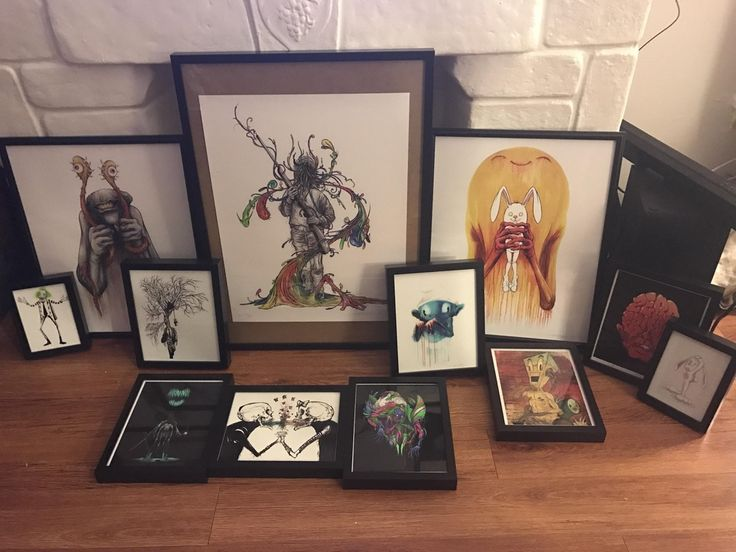 I Finally Framed My Alex Pardee Collection!