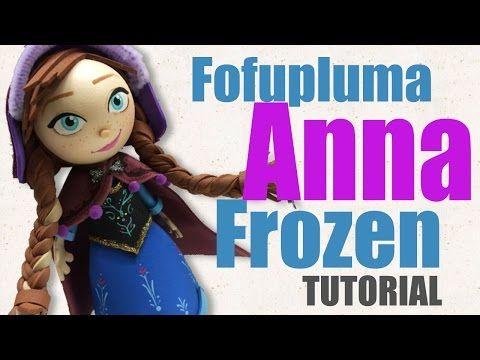 fofupluma Anna Frozen - Una aventura congelada - fofucha - YouTube