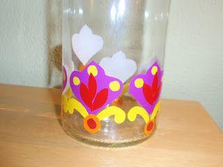 alles-vanellis: flessen schilderen of beplakken