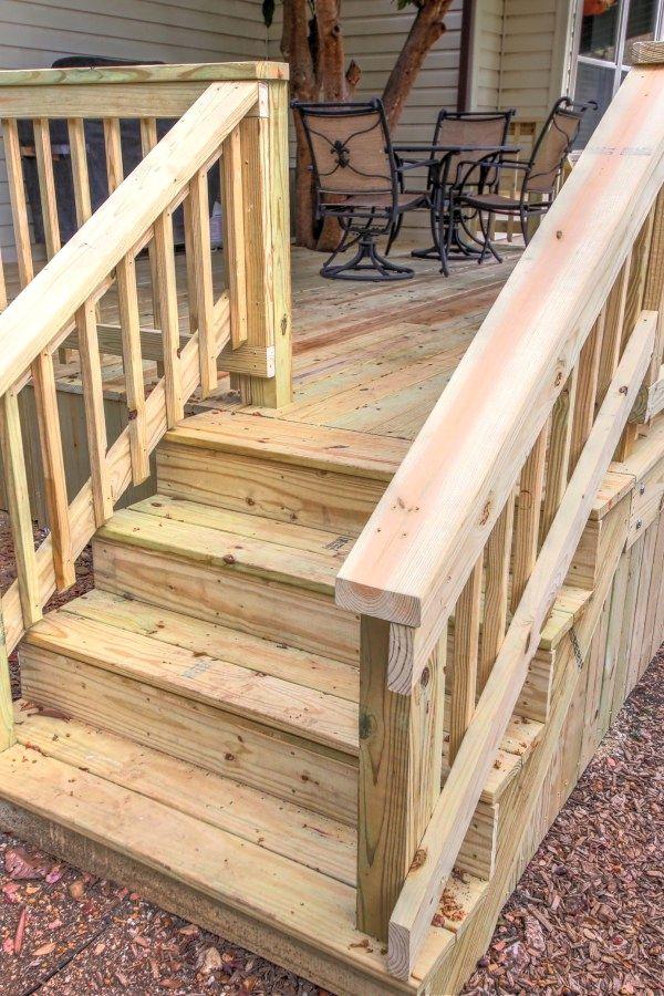 Landscape Design Tips Deck Design Diy Deck Building A Deck