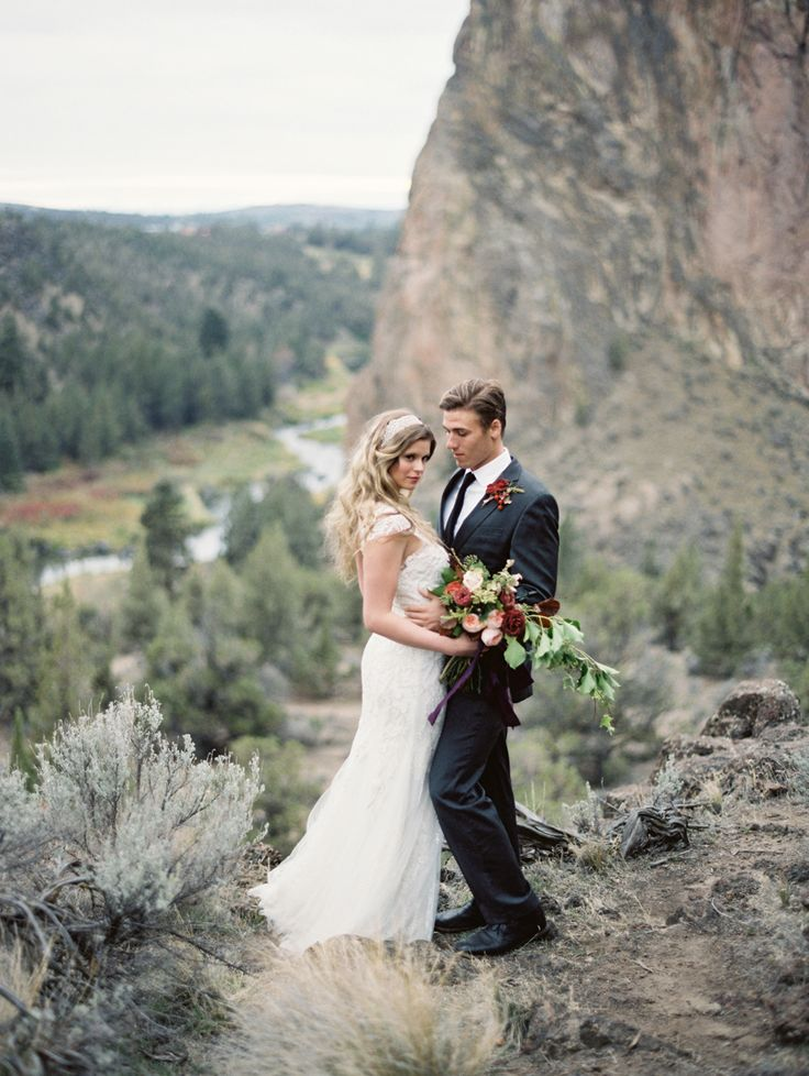 New Smith Rock outside of Bend Oregon Tara Francis Photography wedding photography film