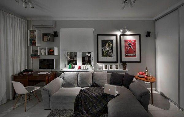 Cool Apartment Design in Moscow - Hot Style Design