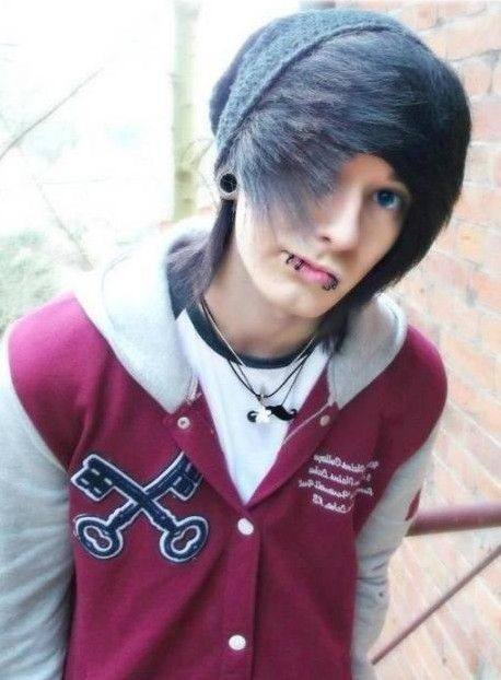 Magnificent 1000 Ideas About Emo Hairstyles For Guys On Pinterest Hairstyle Inspiration Daily Dogsangcom