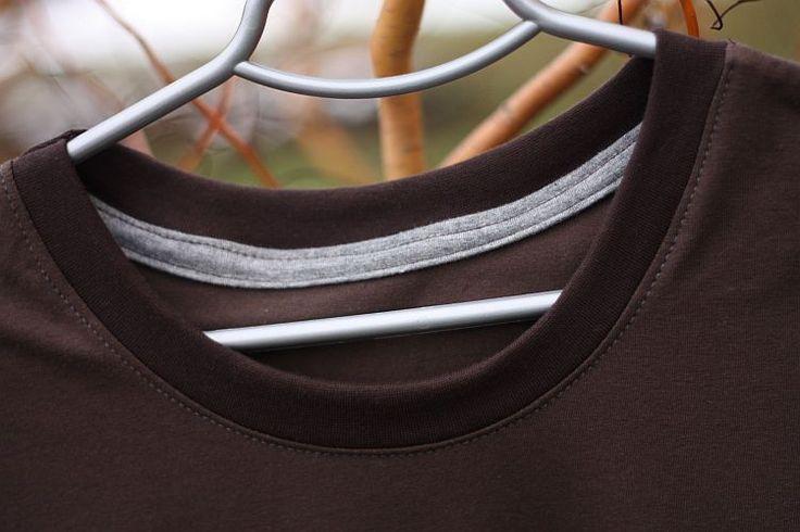 Lemování trička z rubu (fotonávod)