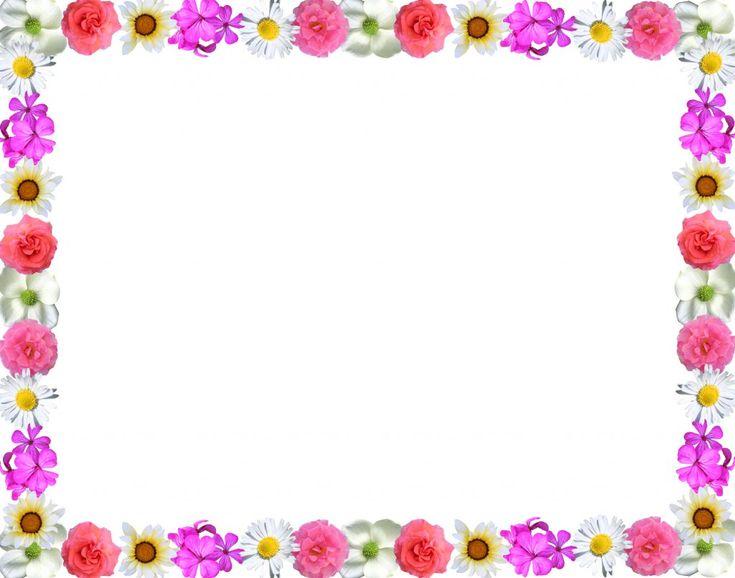 free flower border clipart - Google'da Ara