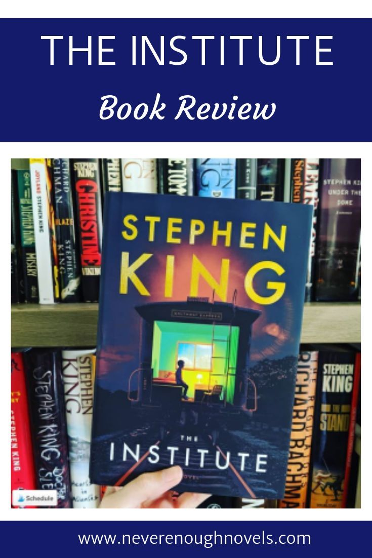 The Institute By Stephen King Book Review With Images Book