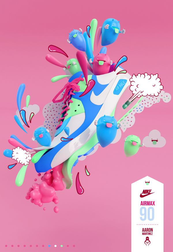 NIKE AIRMAX 90 on Digital Art Served