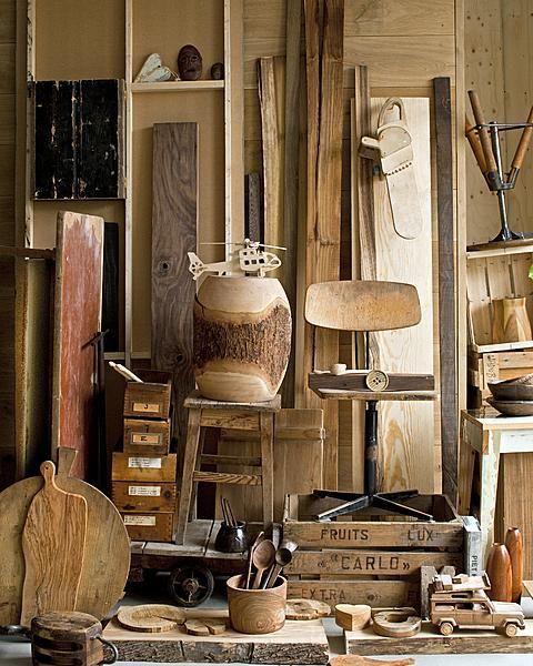 Wood. From vtwonen. Styling: Cleo Scheulderman. Photo: Jeroen van der Spek