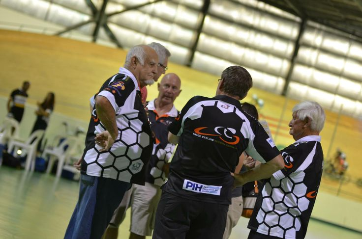 Racing officials that volunteer their time freely to ensure a race night can commence.  Photo Courtesy of Mal Matthews