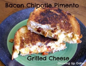 Grilled Bacon Chipotle Pimento Cheese Sandwiches