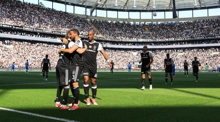 Beşiktaş: 4 - Osmanlıspor: 0 (ÖZET)